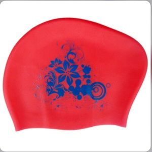 100% Silicone Swimming Cap for Long Hair